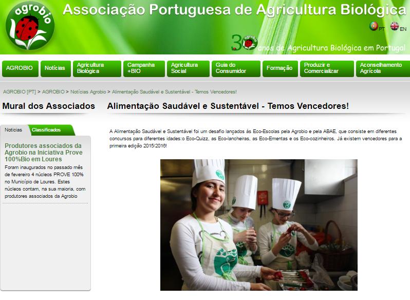 In AGROBIO – Associação Portuguesa de Agricultura Biológica.