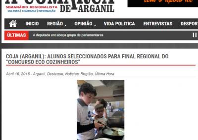 "In""A Comarca de Arganil"", 16-04-2016."