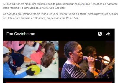 In Escola Evaristo Nogueira, 09-05-2016.