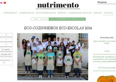 In Nutrimento – Blog do PNPAS da Direção-Geral da Saúde, 08-05-2016.