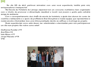 In Cuidar do ambiente é D+, 28-04-2016.