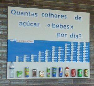 painel Escola EB 2,3 Dr. João de Barros