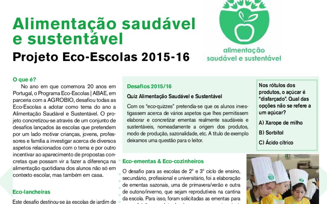 "In revista ""A Joaninha"" da Agrobio. Outono/Inverno 2016. pg. 7."